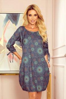 numoco - 281-5 SOPHIE Wygodna sukienka Oversize