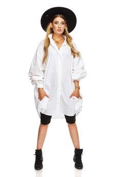 Ooh la la - Koszula oversize biała