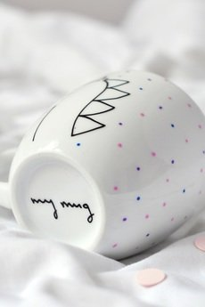 My Mug Company - JEDNOROŻEC COLORFUL 350ML