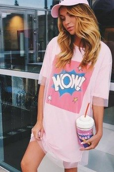 MY! OH MY. old - T-Shirt Woowie Pink