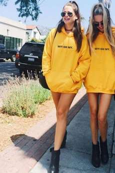 MY! OH MY. old - Bluza Myohmy Yellow