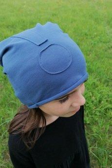M-art-a-baby - Czapka Jull BLUE