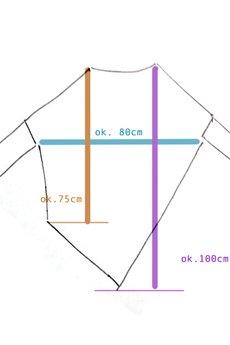 ONE MUG A DAY - Asymetryczna Bluzka trapez granatowy