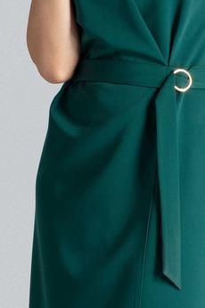 LENITIF - Sukienka L037 Zielony