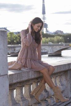 Ooh la la - Szyfonowa sukienka PARIS