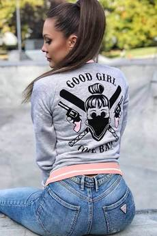 ŁAP NAS - Bluza rozpinana Good Girl Gone Bad