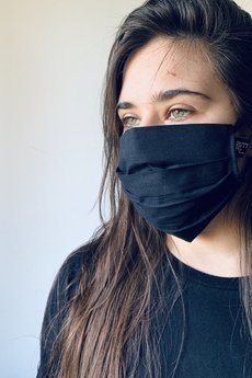 Agnieszka Martini - Maska, Maseczka bawełniana bawełniana + 3 Filtry.