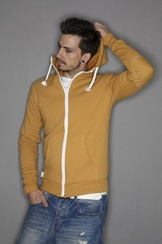 Button - BLUZA HOODIE SIMPLE UNISEX mint mięta