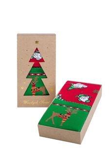 Popsox - Zestaw Świątecznych Skarpetek Damskich 4