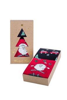 Popsox - Zestaw Świątecznych Skarpetek Męskich 1