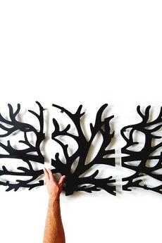 decolicious.pl - Panelowy wieszak dekoracja drzewo  TRUE TREE