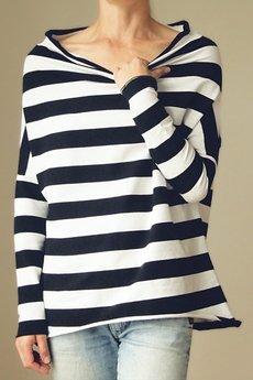ONE MUG A DAY - Golfodekolt w pasy tunika onesize