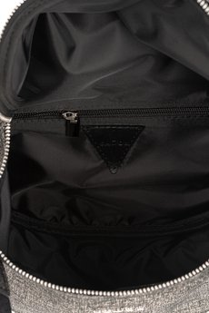 GAWOR - Skórzana torebka damska Venus srebrno-szara