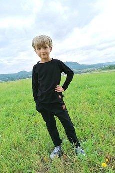 M-art-a-baby - Spodnie Baggy DAX Black
