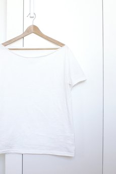 ONE MUG A DAY - Tshirt koszulka krótki biały oversize S-XXL