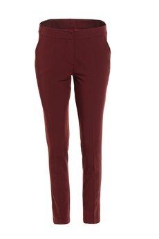 Nife - Bordowe klasyczne spodnie (SD54)