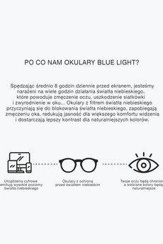 MELLER - OKULARY BLUE LIGHT YSTER Rose