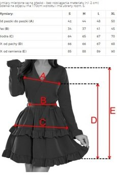 numoco - 297-2 CAROLINE sukienka z falbanami