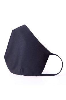 QART - Maseczka ochronna satynowa QART PREMIUM - czarna