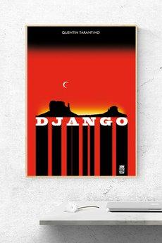 Katarzyna Piotrowicz - Plakat filmowy Django | A3