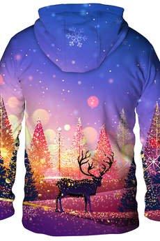 Dr.Crow - Bluza Christmas Trees