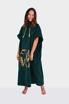Surfponcho HugMe - Hug SIS zielony_gepard