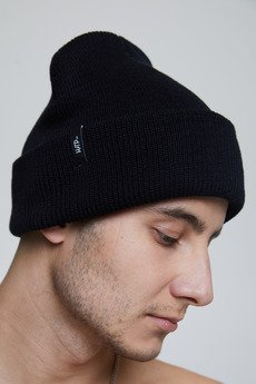 HARP TEAM - Premium Cotton Beanie Black
