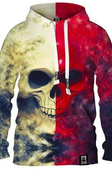Dr.Crow - Bluza White Red Skull