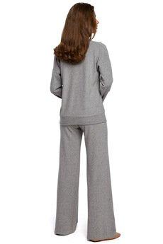 Style - Stylowe spodnie dzianinowe - S249