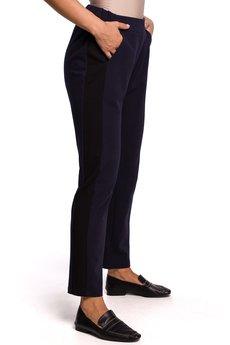 Be - Spodnie dresowe z lampasem - B173