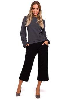 MOE - Spodnie z poszerzonymi nogawkami - M450