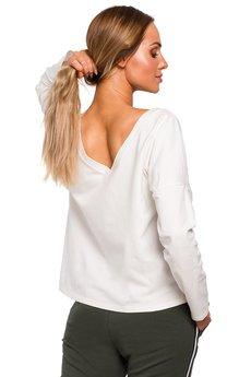 MOE - Bluzka z dekoltem na plecach - M457
