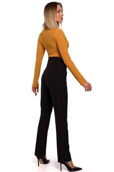 MOE - Spodnie z wysokim stanem - M530