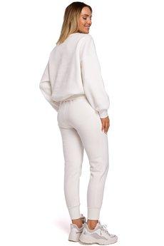 MOE - Spodnie dresowe na gumie