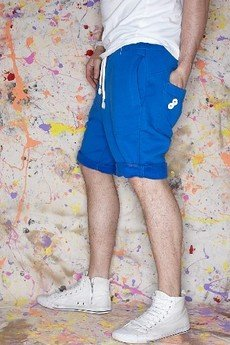 Button - BUTTON SHORT PANTS - spodenki krótkie kolorowe