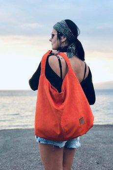 Militu - Torba worek Mili Chic MC7 - miedziana pomarańcza