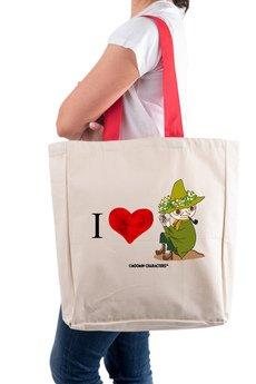 Tailormade24 - Licencjonowana torba XL  I LOVE WŁÓCZYKIJ