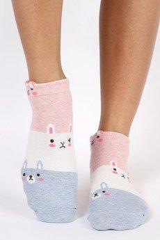 CandySox.PL - Skarpetki z królikiem - Między nami króliczkami