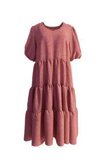 Elevenstory - Sukienka FLAVIA Raspberry Pink Salt