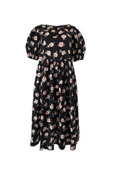 Elevenstory - Sukienka PETRA Midi Cotton Flowers