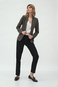 Nife - nife wiosna spodnie z zakładką (SD59)