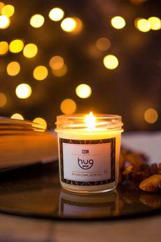 HUGme - Cedr - mini świeca sojowa